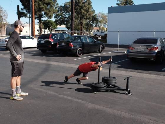 sean push sled